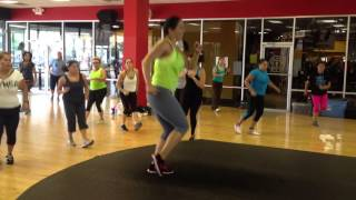 Get your hands up-Zumba with Natalie bargas
