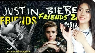 REACTING TO FRIENDS BY JUSTIN BIEBER FT. BLOODPOP thumbnail