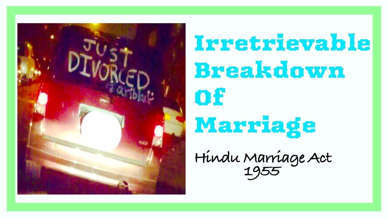 Nice Irretrievable Breakdown Of Marriage  Definition, Case Laws, Criticism Et Al  !