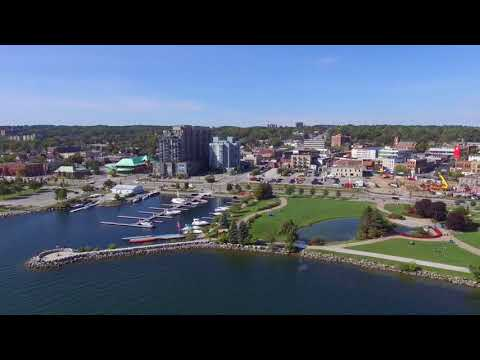 Government Dock, Heritage Park. Barrie, Ontario. October 3, 2017 Phantom 3 SE