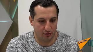 Телеведущий и квнщик Арарат Кещян ответил на вопросы Sputnik