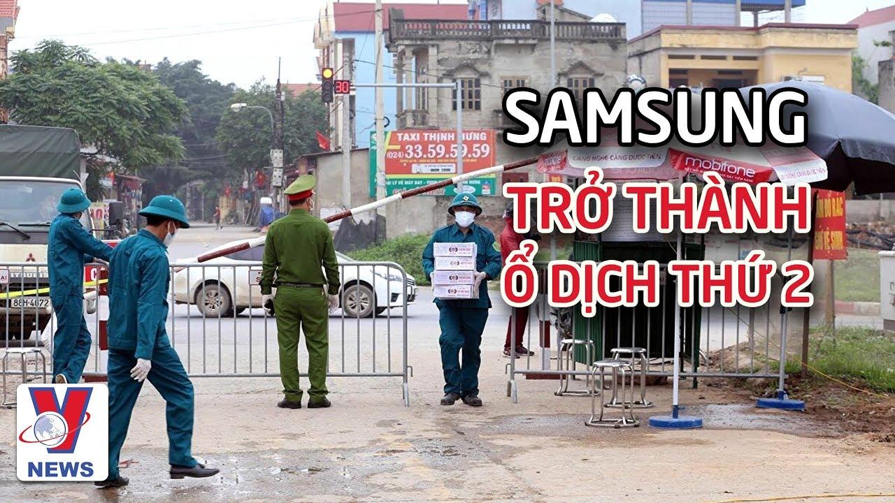 Công ty Samsung Display Việt Nam có nguy cơ trở thành ổ dịch