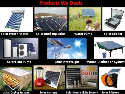 Solar Products (Sunmitra Solar Pvt. Ltd)