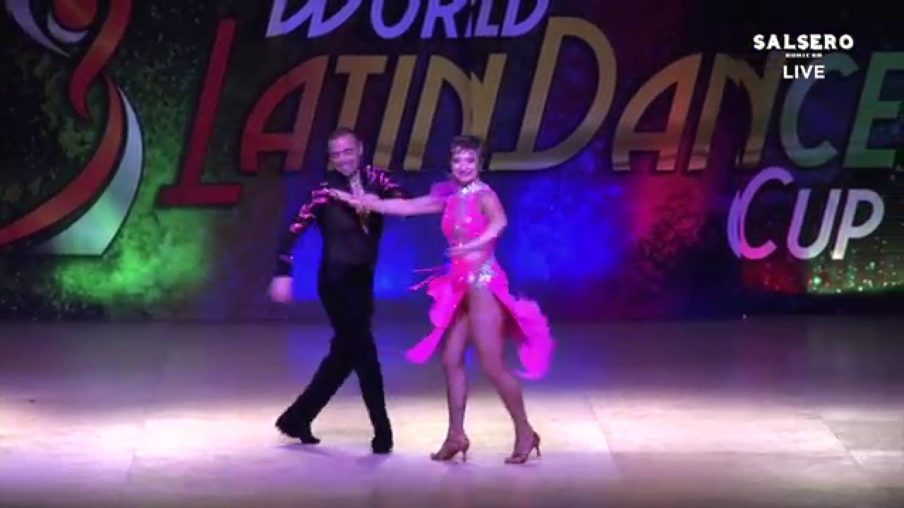 Isabell Hawkins & Yair Dory, Argentina & Israel, Amateur Couple Over 75,  Final Round, WLDC 2015