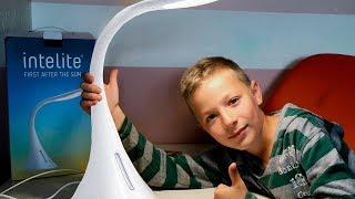 Обзор Настольная светодиодная лампа Intelite Desk Lamp 9W