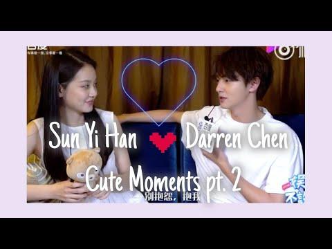 Darren Chen 官鸿 & Sun Yi Han 孙伊涵 Cute Moments PART 2 ♡ (behind the scenes, interviews, etc)