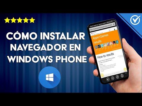 Cómo Descargar e Instalar un Navegador en Windows Phone ¿Cuál es Mejor?