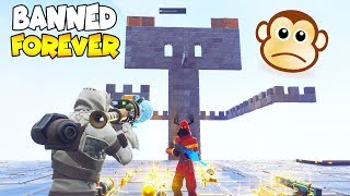 BANNED FOREVER BY SCAMMER! 😱 (Scammer Gets Scammed) Fortnite Save The World