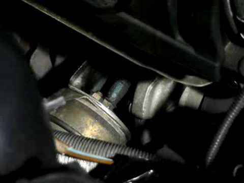 BMW 320d VGT turbo actuator at different revs
