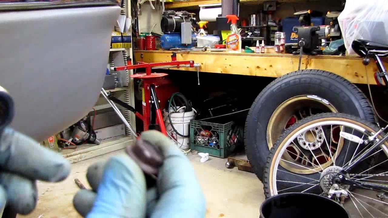 Dodge Dakota Changing the Freeze Plug Behind the Motor Mount Engine In  Vehicle
