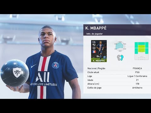 PES 2020 myClub - NÃO PARA DE VIM BOLA PRETA NO PACK OPENING (Gameplay Online) - 동영상