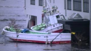 2011年3月11日津波が引き始めた光岸地近辺