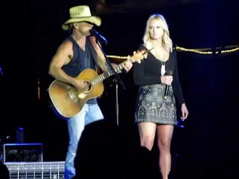 Kenny Chesney with Miranda Lambert - You and Tequila  Auburn, AL  4/23/16