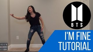 Gambar cover I'm Fine by BTS TUTORIAL (Explaination+Mirrored) | Felicia Tay