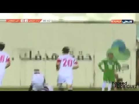أهداف وادي النيص 2-0 الخضر - دوري جوال الفلسطيني 2014\2015