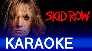 Skid Row – 18 and Life Lyrics Instrumental Karaoke