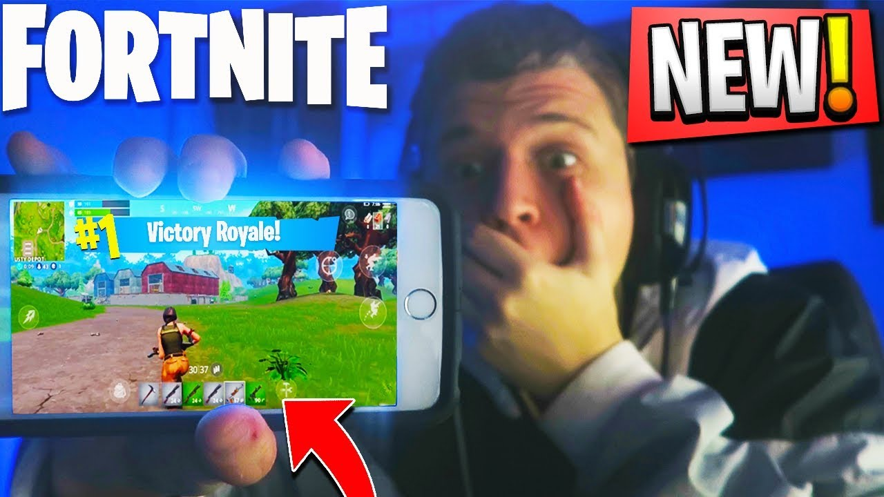 New Fortnite Mobile Victory Fortnite Battle Royale Ios Gameplay Fortnite Phone Best Graphics Youtube