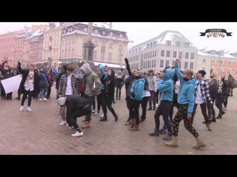 Surprise flashmob for 24K from Polish 24U + BONUS