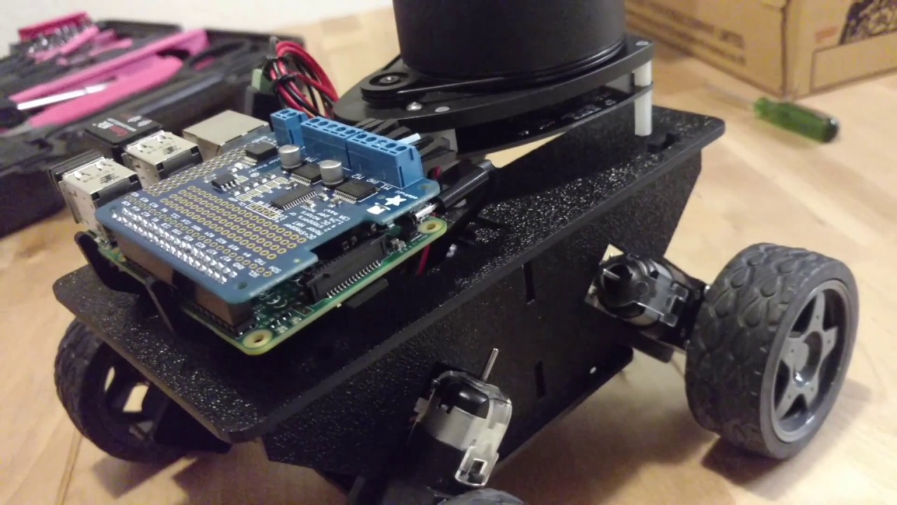 Autonomous Robot using LiDAR