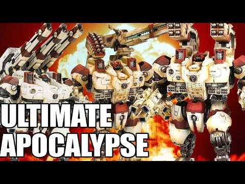 Tau The Faction With The Best Weapons In Warhammer 40k In Dawn Of War Ultimate Apocalypse Mod