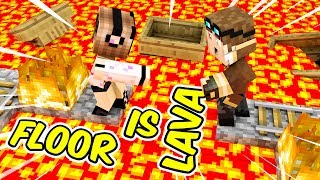 THE FLOOR IS LAVA SU TUTTA LA CITTA39 DI MINECRAFT