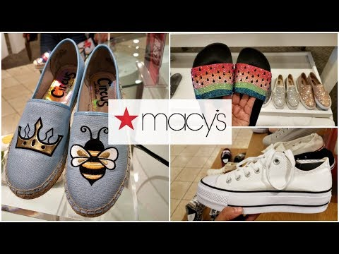 Shop With ME MACYS SHOE WALK THROUGH BEBE MICHAEL KORS  2018