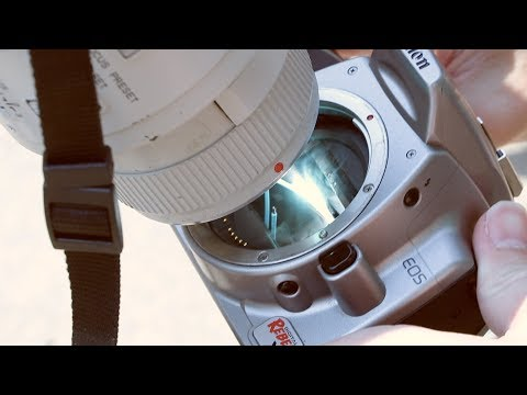 How to MELT your camera shooting the eclipse!