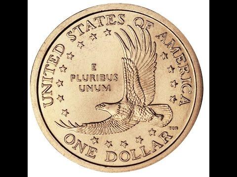 Как выглядит 1 доллар монетой