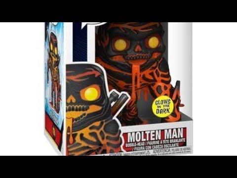 """#474 MOLTEN MAN   IN STOCK NEW POP MARVEL FROM /""""SPIDER-MAN FAR FROM HOME/"""""""