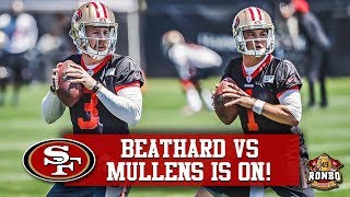 Live! Nick Mullens Embracing Competition For 49ers Backup QB | ESPN Projects 4 2019 Wins thumbnail