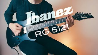 ibanez RG5121 Prestige  Tone Test - New Album out NOW!!!
