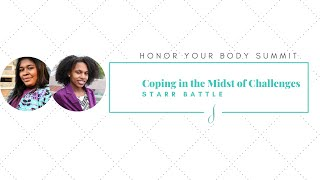 Coping in the Midst of Challenges