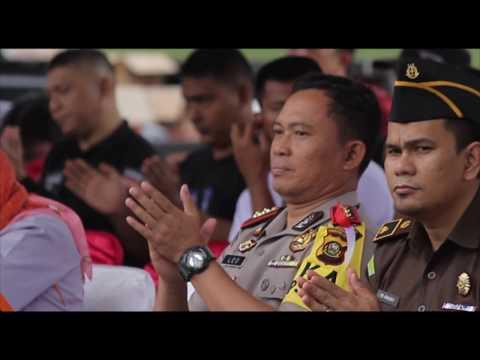 KEGIATAN PENGAMANAN PILKADA CALON BUPATI DAN WAKIL BUPATI MUARA ENIM 2018
