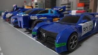Hello Carbot 5 Blue Car Robot Toys 헬로카봇 5 블루 자동차 로봇 장난감 변신