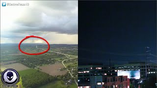 Original Drone video: https://goo.gl/45GqOB Texas UFO video: https:...