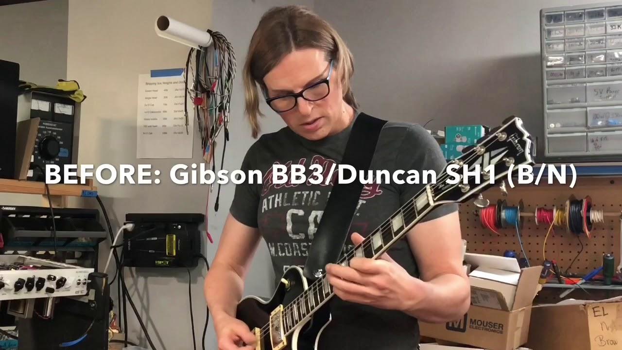 the tone kitchen guitar pickups upgrade before after youtube. Black Bedroom Furniture Sets. Home Design Ideas