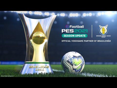 eFootball PES 2021 Season Update Brasileirao announcement trailer