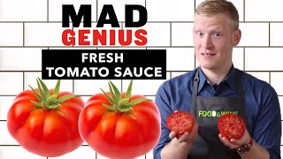 How to Make Fresh Tomato Sauce | Mad Genius Tips | Food & Wine