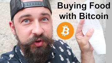 Buying food with Bitcoin in Porto Portugal