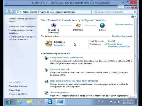 Cambiar de red publica a red privada en Windows 7