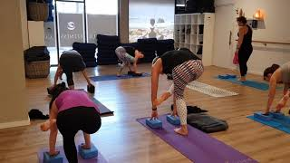 Arm Balancing in Vinyasa Yoga at Soulful Fitness Lane Cove