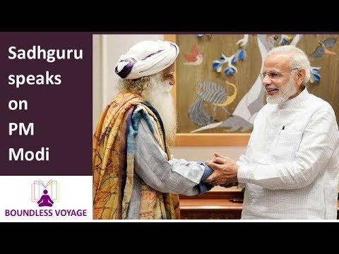 Sadhguru speaks on PM Modi