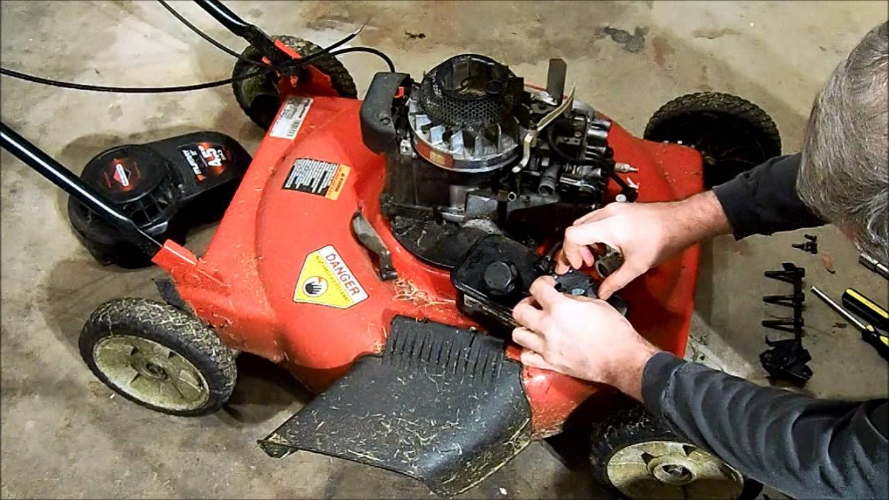 Murray Push Mower Surging Fix Youtube Briggs Stratton Governor Spring Diagram Car Tuning