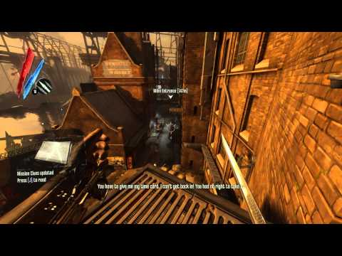 Let's Play Dishonored DLC - The Knife of Dunwall - Part 1 |