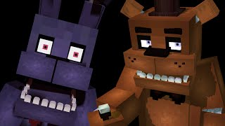 Five Nights in Minecraft КУБИЧЕСКИЕ АНИМАТРОНИКИ