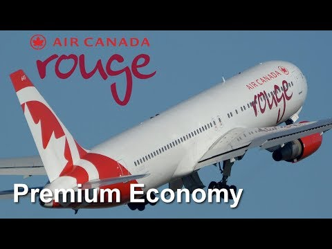 Orlando To Toronto   Air Canada Rouge   Premium Economy