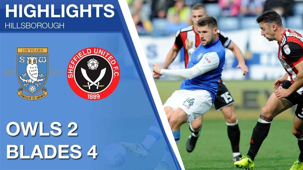 Sheffield Wednesday 2 Sheffield United 4 Extended