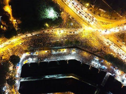 Tun.Mahathir Datang Melaka untuk PRU14 (Drone Shot)!!! 空拍敦马来马六甲!!