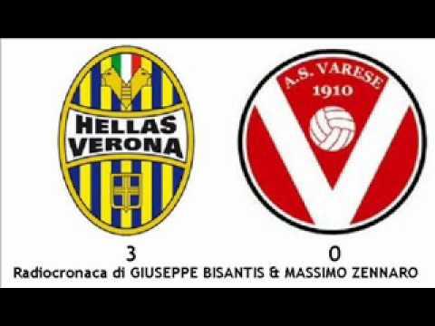 Verona-Varese 3-0 – Radiocronaca di Giuseppe Bisantis & Massimo Zennaro (19/5/2012) Radiouno RAI