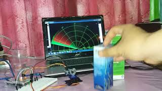 RADAR PROJECT USING ARDUINO AND PROCESSING